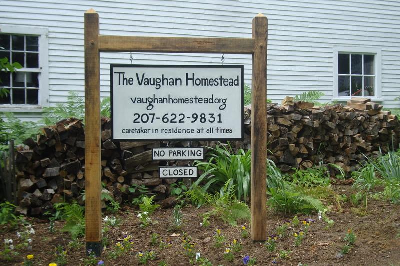 The Vaughan Homestead.