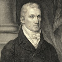 James Monroe (1758-1831), President of the United States