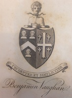 Benjamin Vaughan Family Crest.