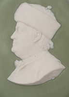 Medallion Portrait of Benjamin Franklin
